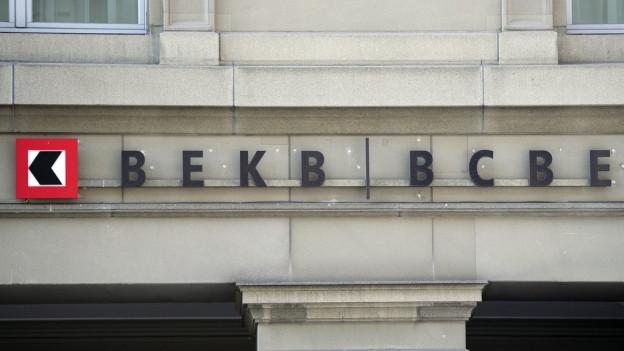 Die Berner Kantonalbank hat ein solides Geschäftsjahr hinter sich.