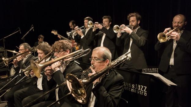 Inklusive aller externen Engagements hat das Swiss Jazz Orchestra bereits über 650 Auftritte hinter sich.