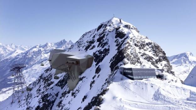 Visualisierung Bergstation am Klein Matterhorn