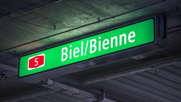 «Biel/Bienne» soll künftig auch bei den Ausfahrten stehen.