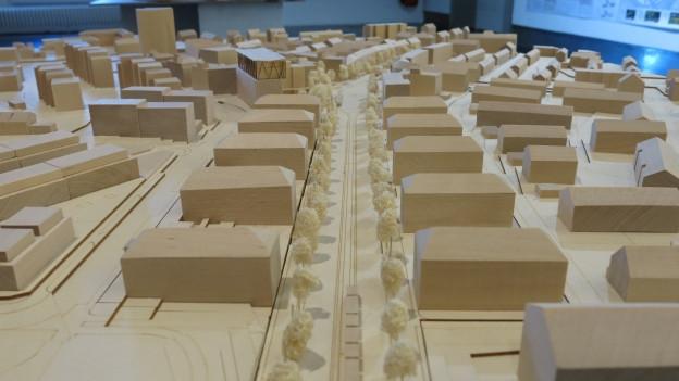Wo heute die Autobahn A6 die Stadt Bern teilt, kann vielleicht in ein paar Jahren ein neues Quartier entstehen.