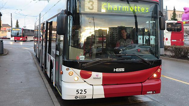 Bus in Freiburg