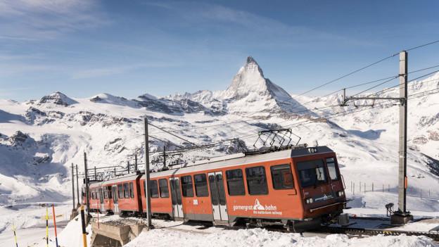 Malerische Kulisse: Die Gornergratbahn ist das Zugpferd der BVZ-Gruppe.
