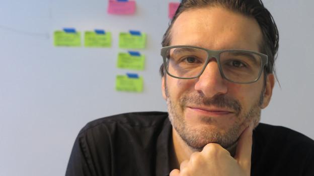 «Ich will in Wirtschaftsfragen mitreden»: Gerhard Andrey.