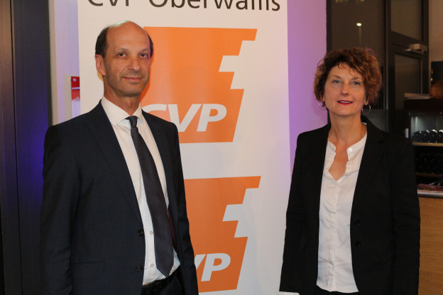 Die CVP Wallis will mit Beat Rieder und Marianne Maret ihre zwei Sitze im Ständerat verteidigen.