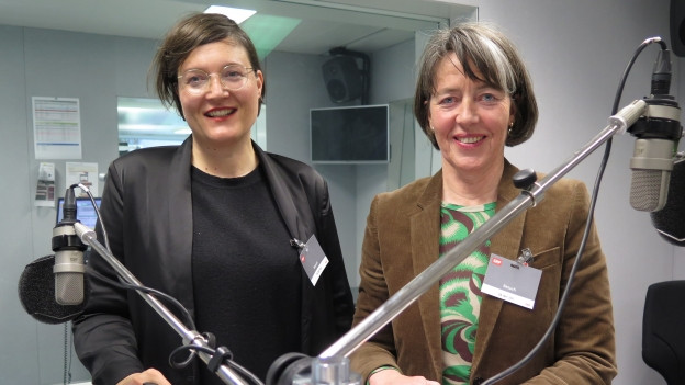 Haben klare Ziele für ihre Museen in Bern: Nina Zimmer (links) und Jacqueline Strauss.