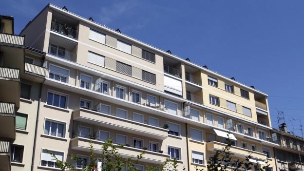In Genf gibt es bereits mehrere Mehrfamilienhäuser, die aufgestockt wurden.