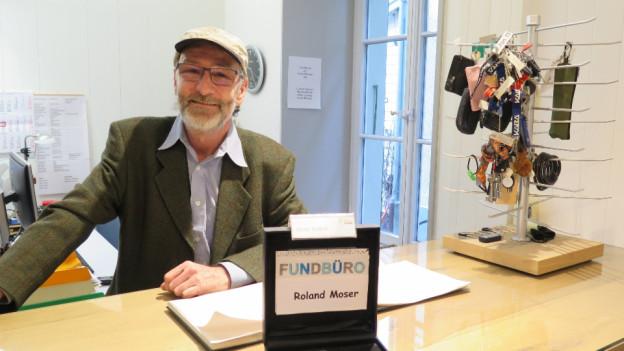 Fundbüroleiter Roland Moser über die Liebe zu den Dingen