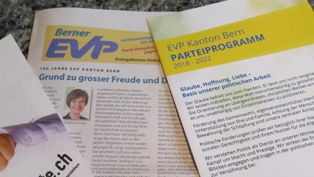 100 Jahre EVP Kanton Bern