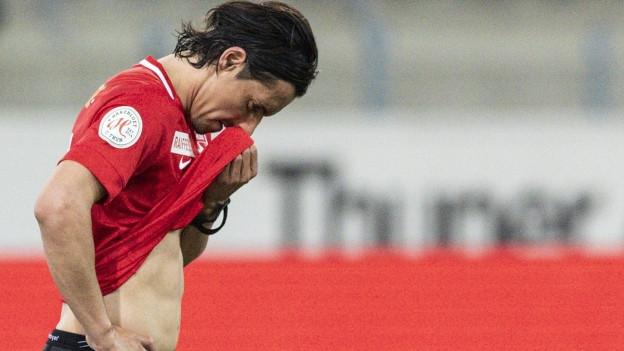 Das letzte Heimspiel hat Nelson Ferreira mit dem FC Thun gegen den FC Basel mit 1:2 verloren.