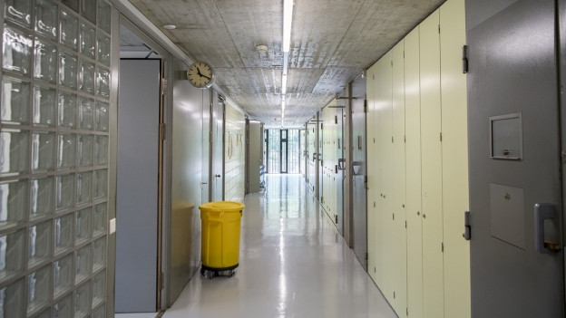 Wird vorerst nicht totalsaniert: ein Korridor auf dem Thorberg.