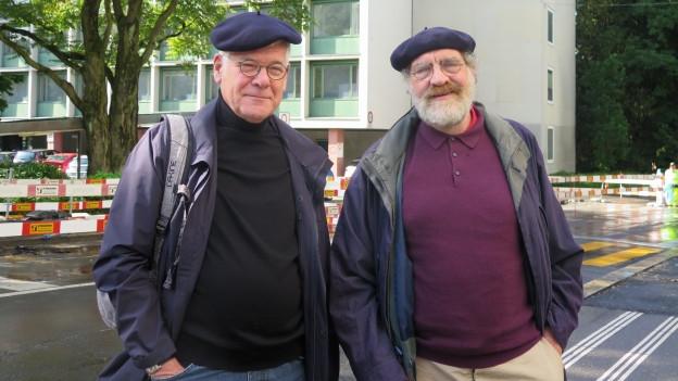 Die Präsidenten Andreas Hirschi (Kleiner Kirchenrat, links) und Andreas Bürki (Grosser Kirchenrat) über Sparen und Fusionen.