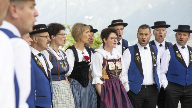 Jodlerfest in Brienz war ein Erfolg