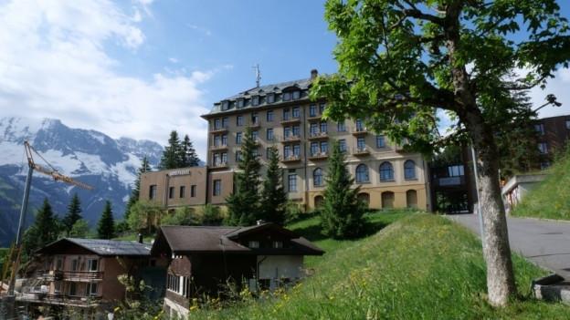 Es ist das älteste Palace-Hotel der Schweiz.