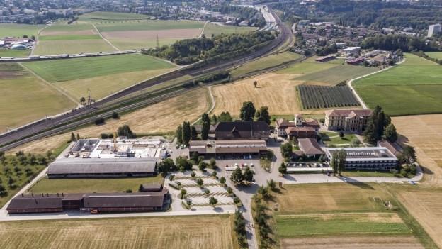 In Zollikofen ist einer der sechs Inforama-Standorte im Kanton Bern