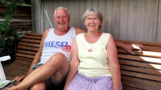 Sie haben sich in den 1960er Jahren bei der Arbeit in einer Teppichfabrik kennengelernt.