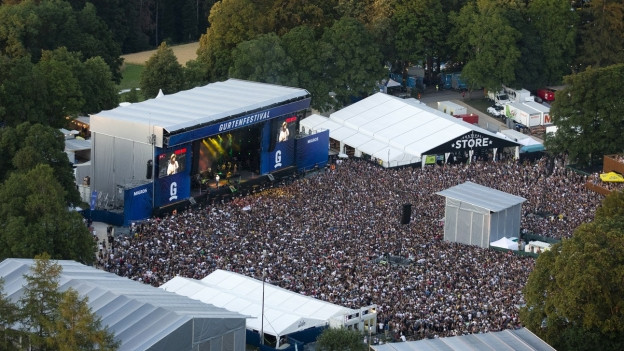 Das Gurtenfestival war an drei von vier Tagen ausverkauft.