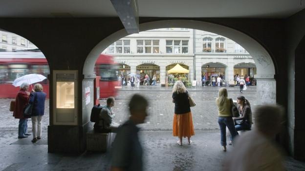 Die Berner Innenstadt ist für das Gewerbe ein hartes Pflaster.
