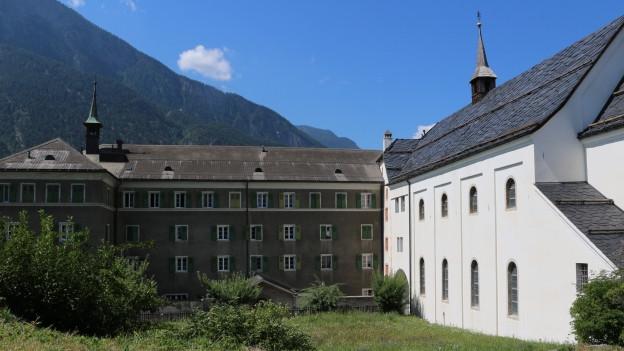 Das Kloster St. Ursula hat sich stark verändert.