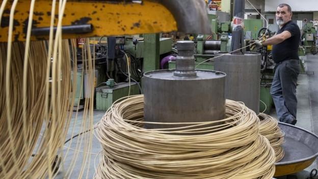 In den Swissmetal-Werken wird vorerst weitergearbeitet.