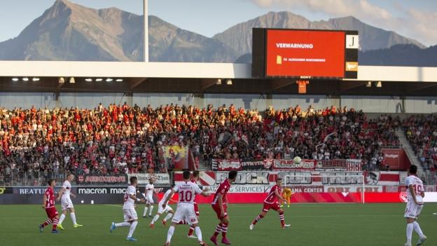 Knappe Niederlage für Thun vor imposanter Kulisse in der Stockhorn-Arena.