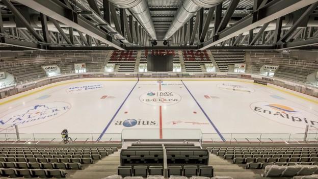 Seit Anfang 2018 wurd in Visp gebaut, nun ist die «Lonza Arena» fertig.