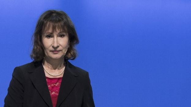 Die BKW-Chefin Suzanne Thoma.
