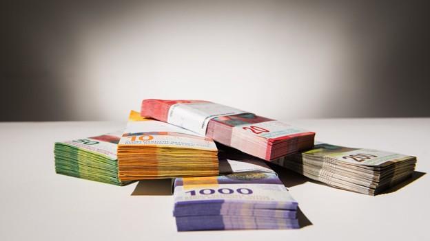 Im Moment halten sich Ausgaben und Einnahmen die Waage.