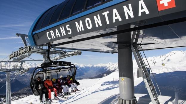 Crans-Montana will nicht mehr mitmachen im Ski-Tarifverbund.