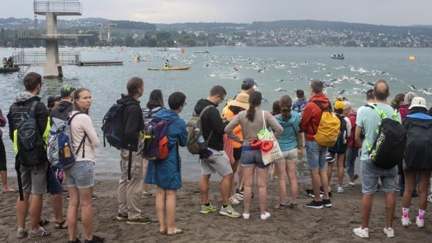 Letztes Jahr noch in Zürich, nächstes Jahr in Thun: Der Ironman.