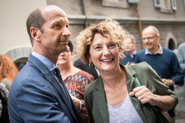 Beat Rieder und Marianne Maret (beide CVP) sitzen fürs Wallis im Ständerat.