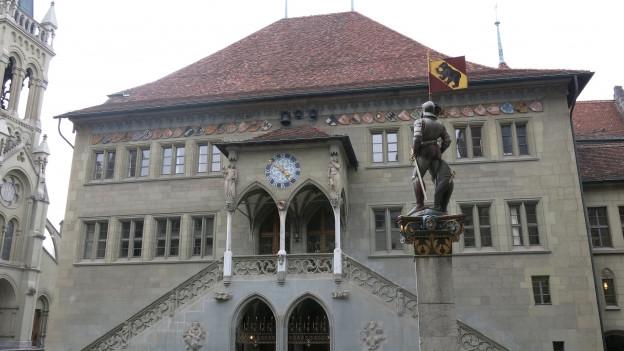 Der bernische Grosse Rat tagt im Rathaus