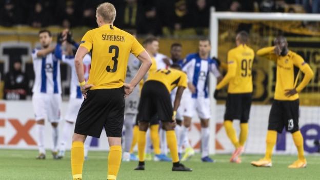 Kein Sieg gegen Porto: In zwei Wochen kommt es zum entscheidenden Spiel.