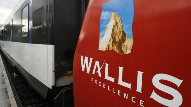 SBB und Kanton Wallis setzen ihre Zusammenarbeit fort.