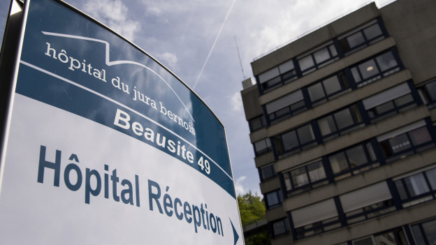 Logo der Spitalgruppe Hôpital du Jura bernois