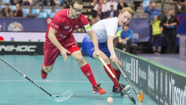 Matthias Hofbauer am Spielen