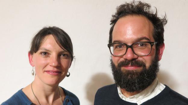 Porträt von Mirjam Balmer und Julien Vuilleumier