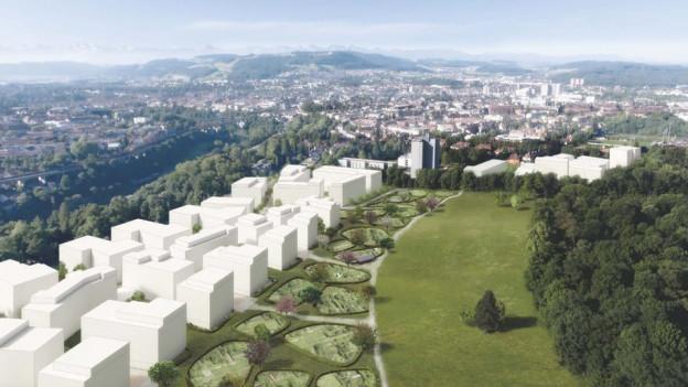 Frühestens 2023 kann mit der Überbauung begonnen werden.