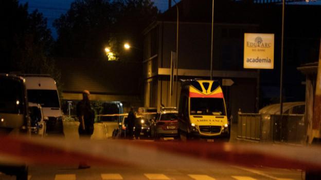Grosser Polizeieinsatz in Biel