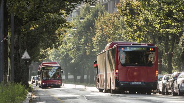 Trams statt Busse und vorübergehend viele Baustellen zwischen Bern und Ostermundigen.