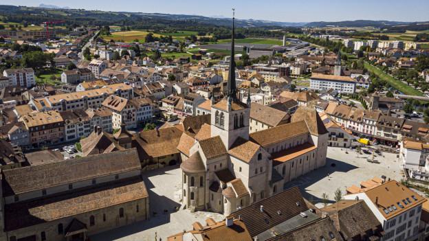 Während zehn Jahren wurde die Abtei Payerne renoviert