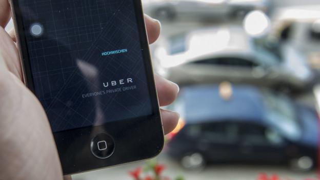 Uber ist seit einem halben Jahr in Bern aktiv.