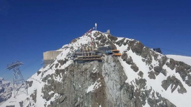 Bis Winter 2018/19 realisiert die Zermatt Bergbahnen AG die weltweit höchste 3S-Bahn.