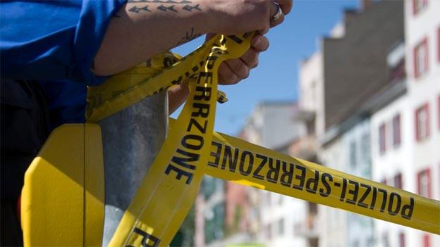 Wegen dem verwirrten Mann auf dem Dach war die Bruderholz-Strasse zwei Tage lang gesperrt.