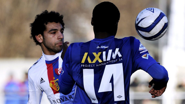 FCB-Spieler Salah traf zweimal für den FC Basel und musste doch bis am Schluss der Verlängerung zittern.
