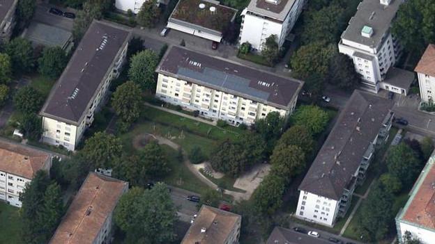 Felsplattenstrasse in Basel:
