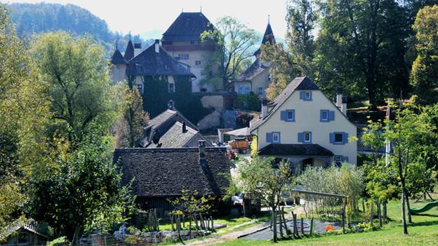 Das Schloss Wildenstein bei Bubendorf