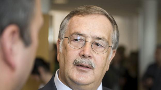 FDP-Regierungsrat Adrian Ballmer tritt zurück