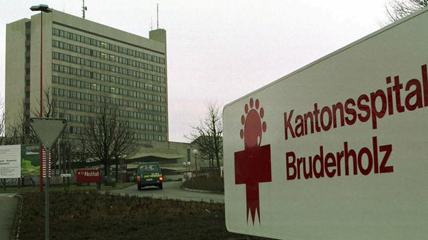 Bruderholzspital - Heute einer von drei Standorten des Kantonsspitals Baselland.