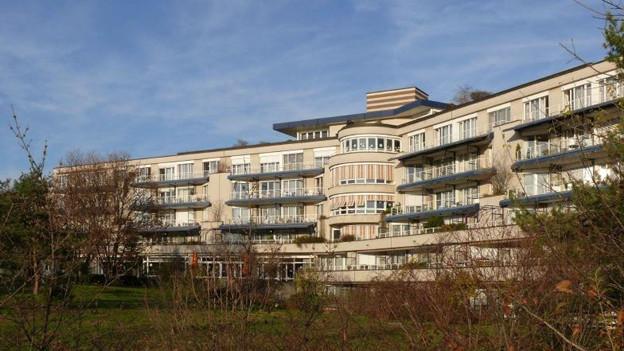 Zweitgrösstes Pflegeheim in Basel-Stadt: Johanniter mit fast 140 Plätzen.